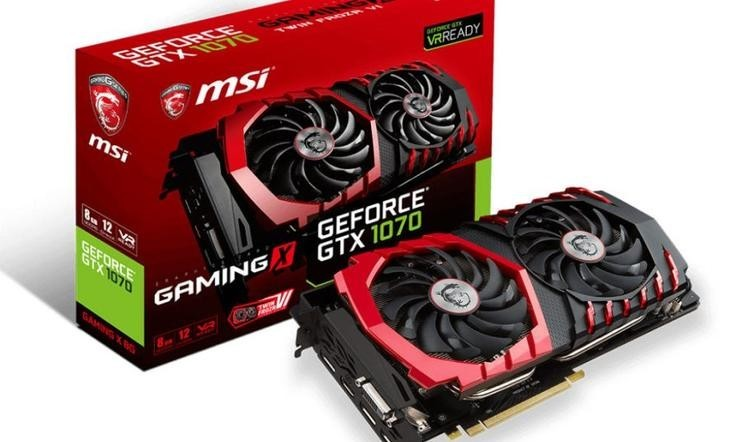 GTX 1070 from different manufacturers