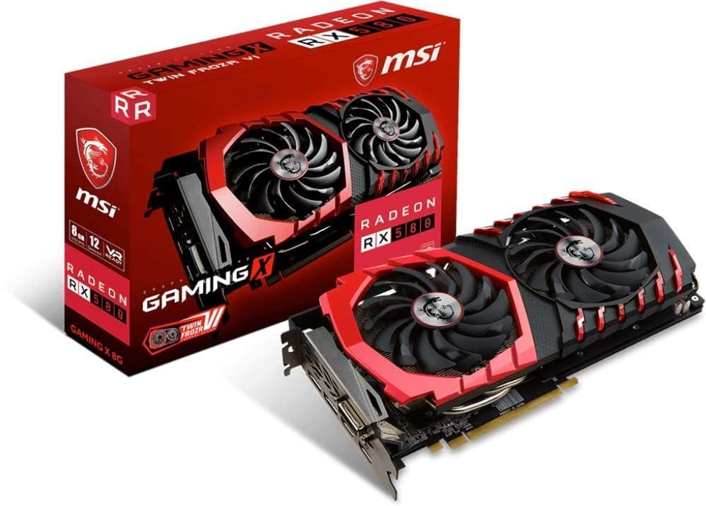 Specifications RX 580