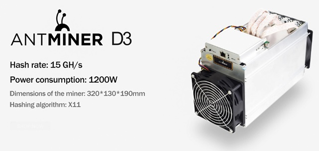 The history of the creation of Antminer D3
