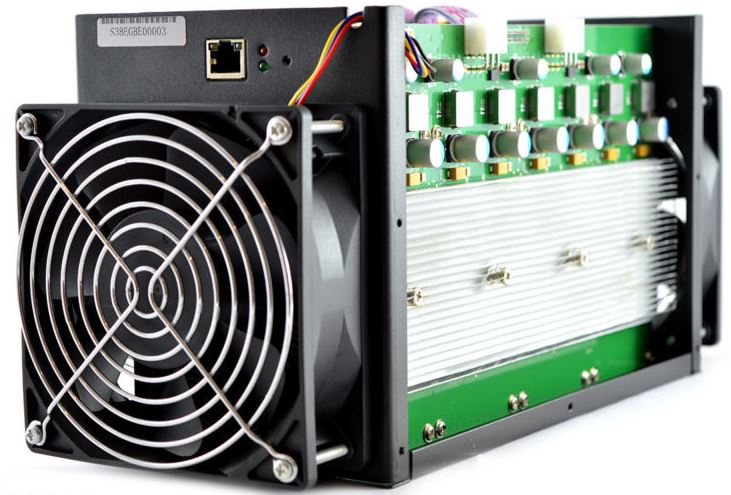 Antminer S3 Specifications
