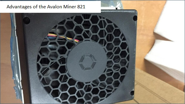 Advantages of the Avalon Miner 821