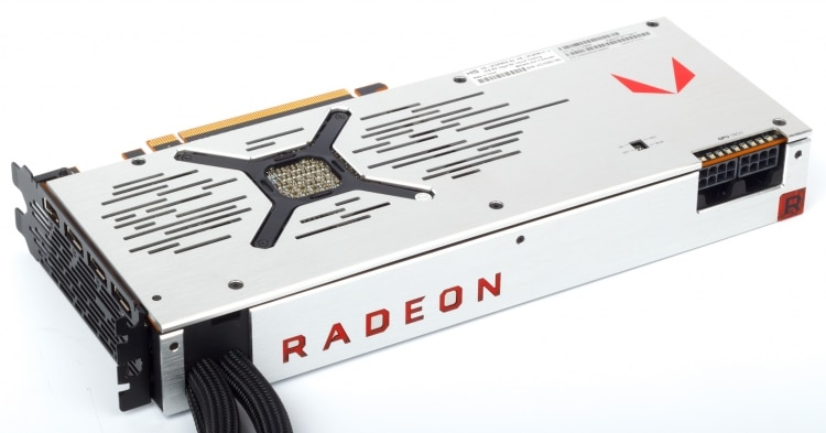 Radeon RX Vega 64 LC is its liquid cooling system