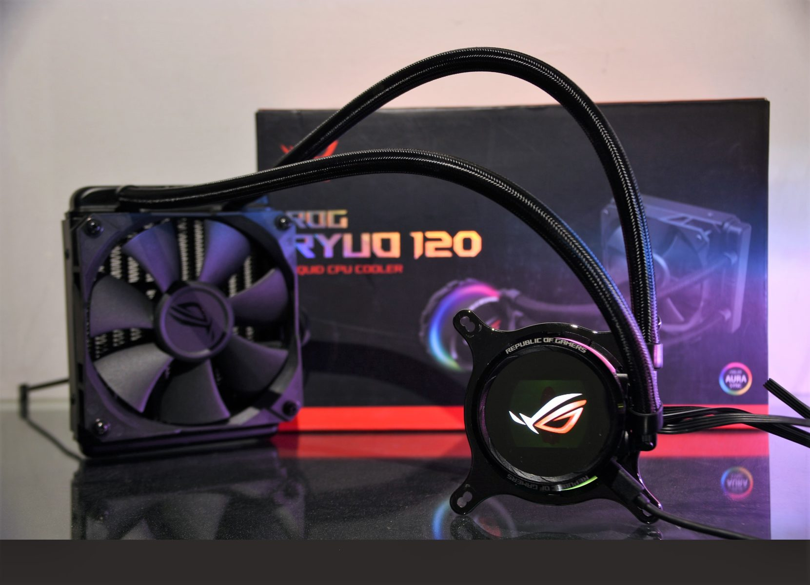 Review ASUS ROG RYUO 120 – Specs | Testing | Overclocking
