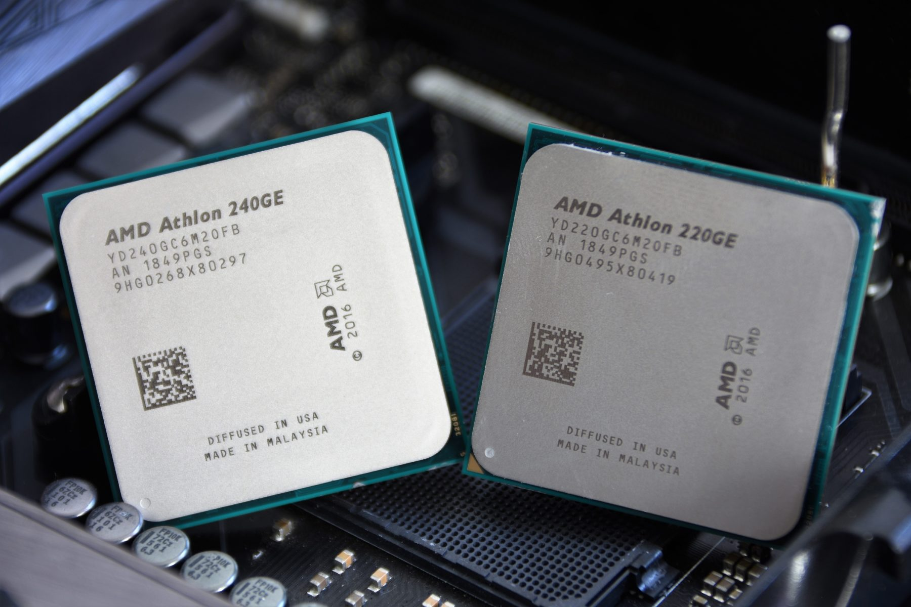 AMD ATHLON 220GE and 240GE [AM4] – Review | Hashrate | Test