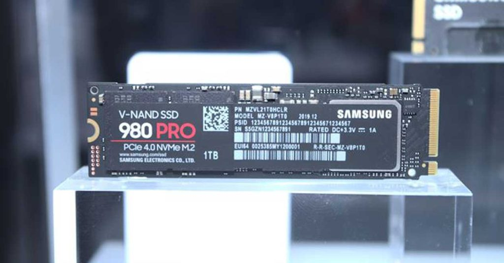 the new high-performance M.2 NVMe SSD