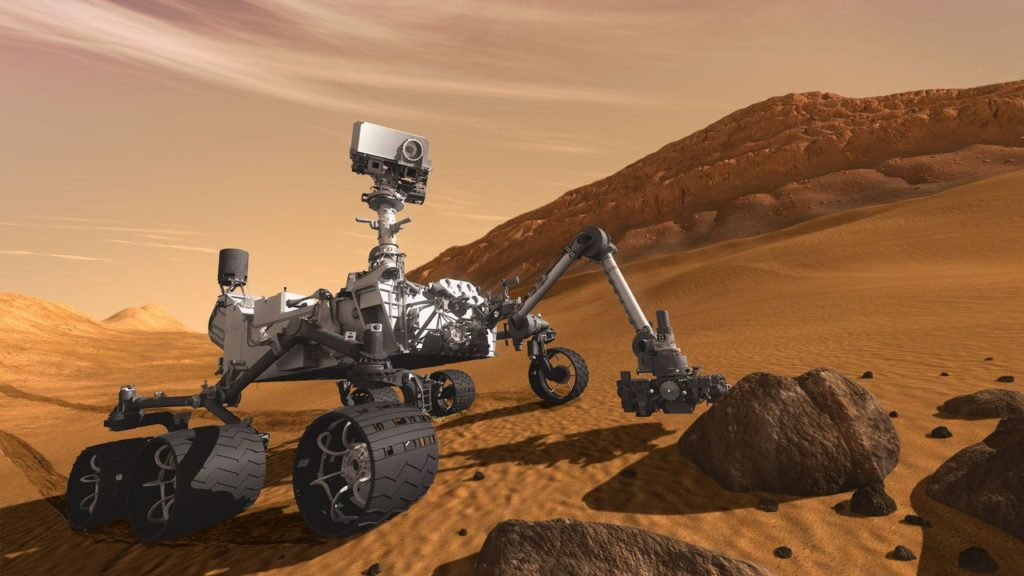 first look at the NASA rover that will go to Mars