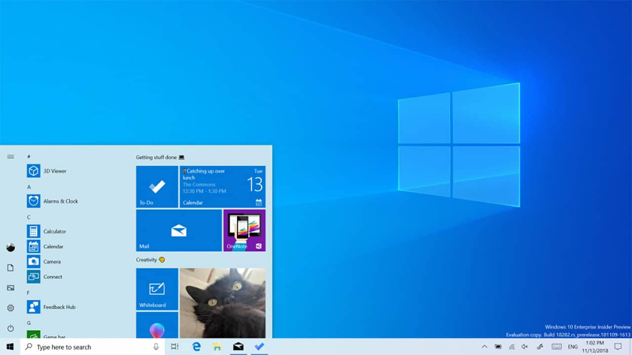 Windows 10 21H1, the first builds will be released in June on the Fast Channel