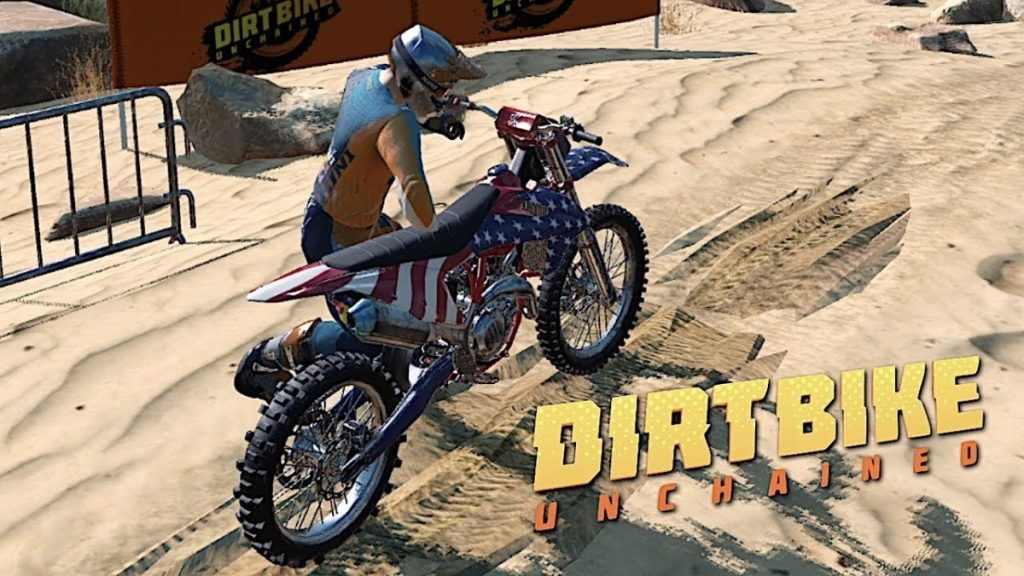 "Red Bull Launches ""Dirt Bike Unchained"", Their New Motocross Racing Game"