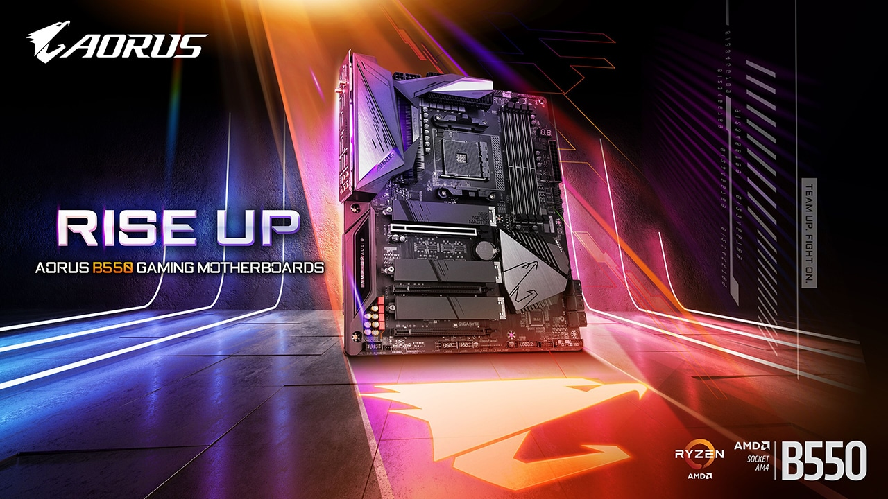 Gigabyte B550, the Aorus range arrives: there is also a mini-ITX