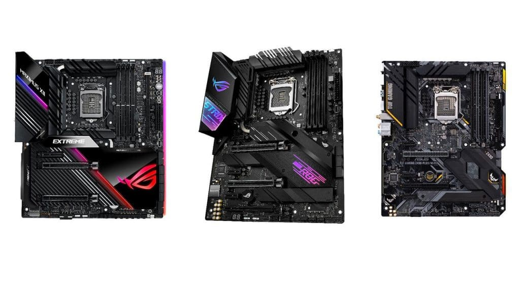 ASUS Announces Its Z490 Series Motherboards