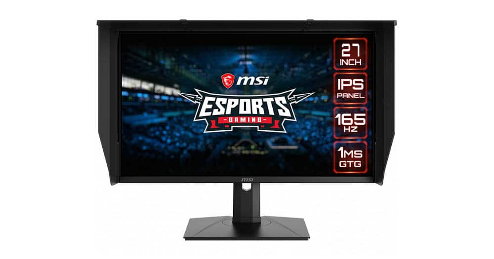 MSI presenta su monitor Optix PAG272QR2, con resolución 1440p y tasa de refresco de 165Hz