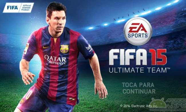 introduction fifa15 for android