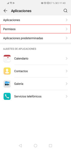 how to view permissions android applications step 2