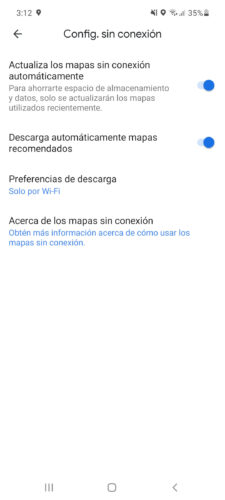 google maps without internet settings