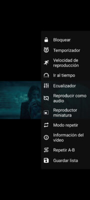 ajustes vlc android